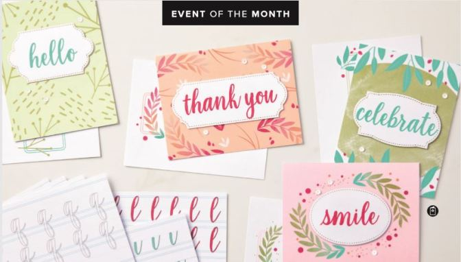 Event of the Month – Calligraphy Essentials Kit