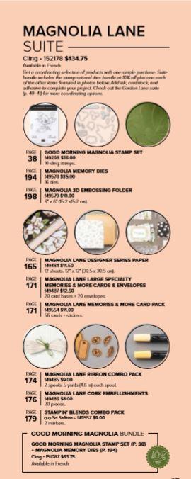 Magnolia Suite Info
